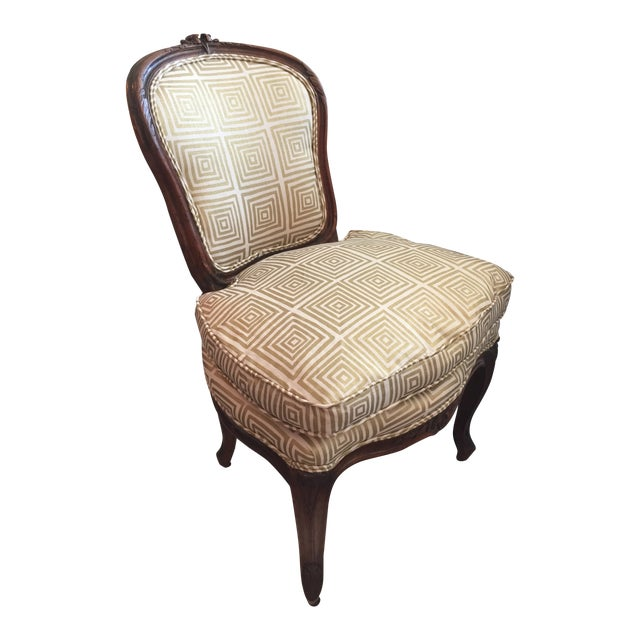 Early 19th C. Louis XVI Slipper Chair - Image 1 of 6