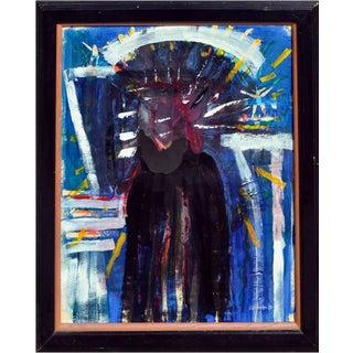 "Addison Robichaud ""Spirit of the Buffalo in Las Vegas"" Painting"