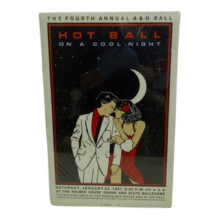 Hot Ball on a Cool Night Palmer House Poster