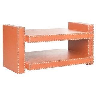 Safavieh Orange Garson Accent Table