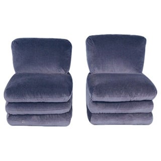 Vice Versa Donghia Slipper Chairs - A Pair