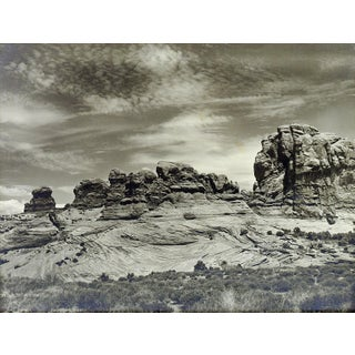 "Lloyd M. Pyeatt ""Cross Bedding"" Rock Formations Photograph"