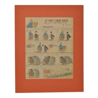 "Jack Farr New York Herald Full Page ""Solomon"" Color Cartoon, Circa 1918"