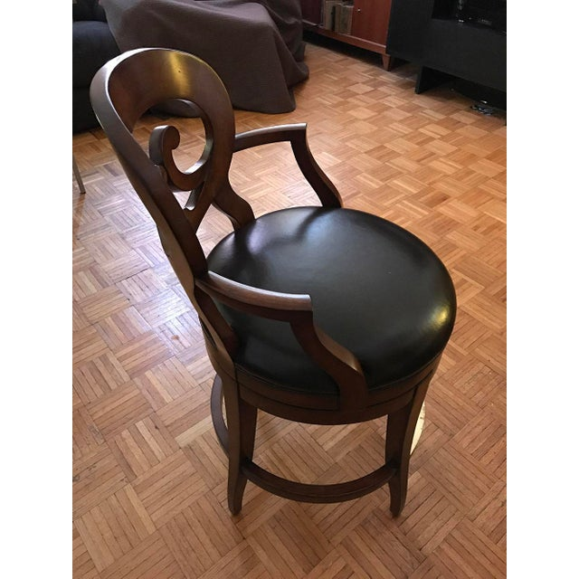 Woodbridge Furniture Armless Bar Stool - Image 6 of 6