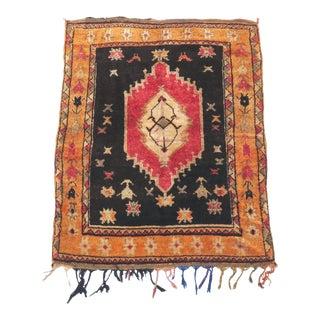 Moroccan Vintage Taznakht Rug - 4′6″ × 6′1″