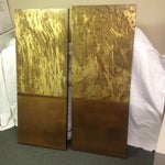 Image of Copper Art Work Panels - A Pair