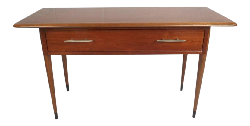 unique midcentury modern console table by lane - Modern Console Tables
