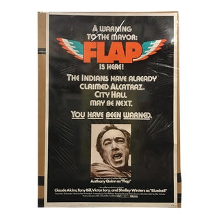 "Warner Brothers Studios ""Flap"" Vintage Movie Poster"