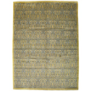 "New Traditional Hand Knotted Area Rug - 10'4"" x 13'10"""