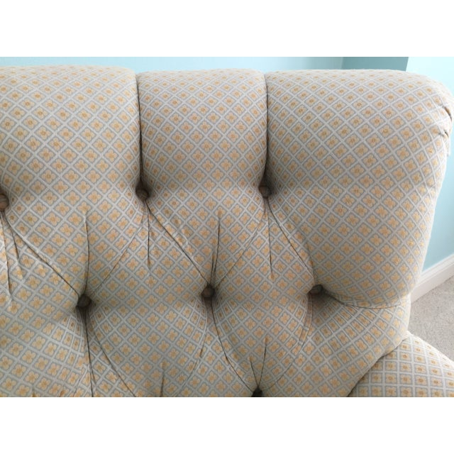 Tufted French Chairs - A Pair - Image 6 of 10