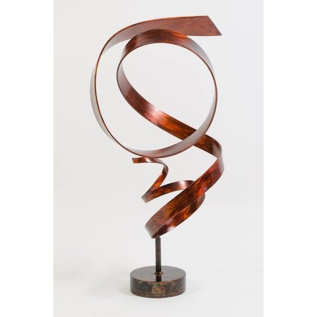 Hephaestus by Joe Sorge, Patinated Steel Sculpture - Image 4 of 9