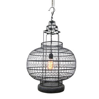 Industrial Wire Work Lantern