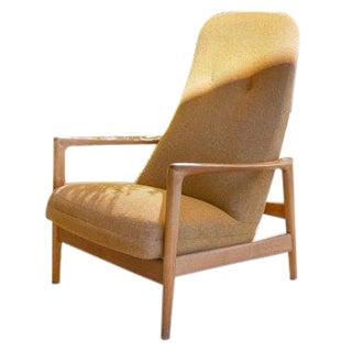 Mid-Century Folke Ohlsson Reclining Lounge Chair