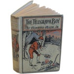 "Image of Horatio Alger ""The Telegraph Boy"" 1909 Book"