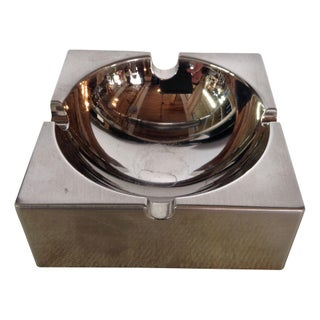 Mod Chrome Vintage Ashtray