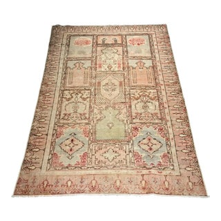 Bellwether Rugs Vintage Turkish Oushak Distressed Small Rug- 3'10 X 5'8""