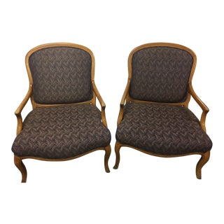 French Country Style Chairs - A Pair