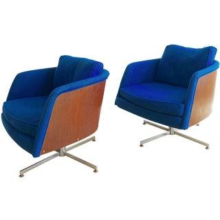 Milo Baughman Lounge Chairs - A Pair