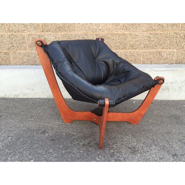 Image of Norwegian Leather Safari Sling Chair