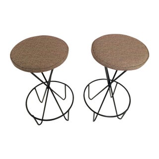 Hairpin Bar Stools by Paul Tuttle - A Pair