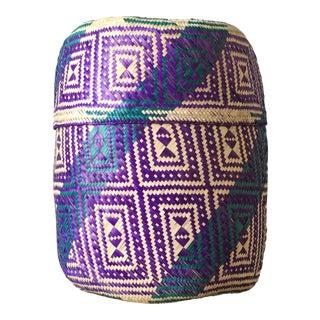 Handwoven Palm Basket