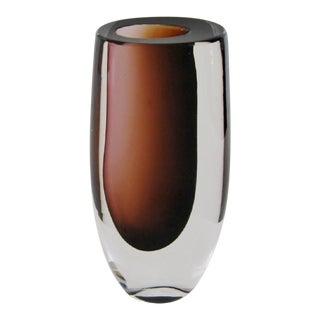 Vintage Vicke Lindstrand Glass Vase