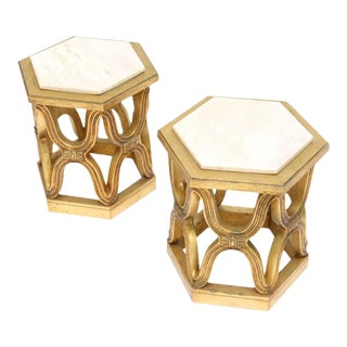 Pair of Giltwood Side Tables