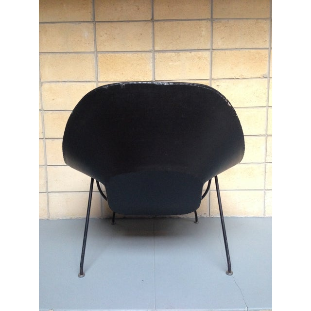 Eero Saarinen for Knoll Vintage Black Womb Chair - Image 7 of 11