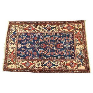 "Kordish Tribal Herati Rug - 3'9"" X 5'9"""