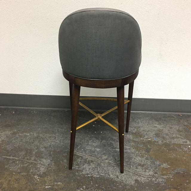 Hickory Chair Laurent Bar Stool - Image 4 of 7