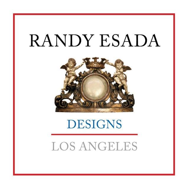 Image of Carved Italian Venetian Bed by Randy Esada Designs