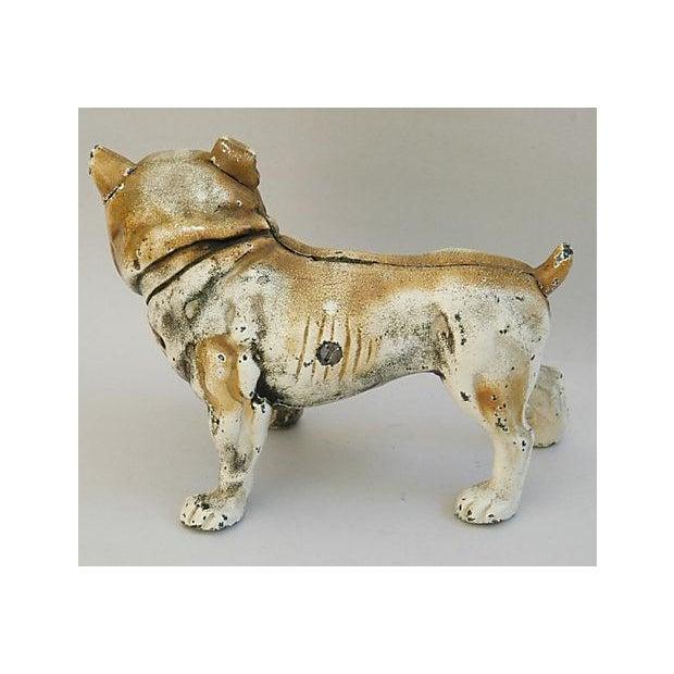 Cast Iron Bull Dog Bank/Door Stop - Image 6 of 8