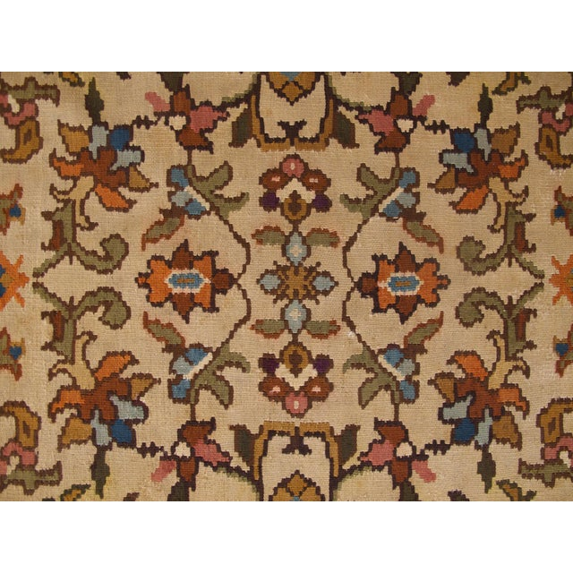 Bessarabian Room-Size Woven Kilim - Image 4 of 10