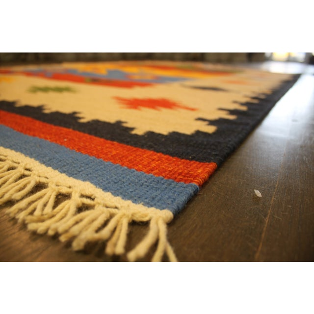 "Image of Apadana - Hand-Knotted Kilim Rug - 5′6″x 8'1"""