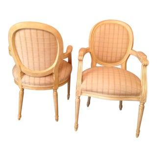 Louis XVI Style Chairs - A Pair