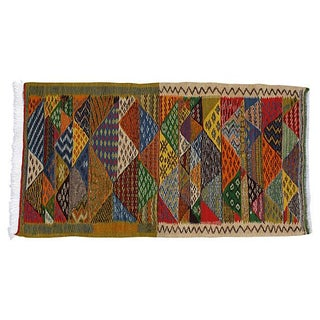 Moroccan Berber Kilim - 4'2'' x 2'