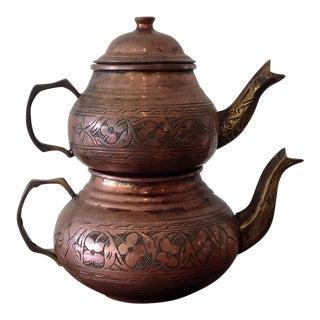 Anatolian Turkish Tea Pot - A Pair