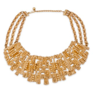 Napier Textured Collar Necklace