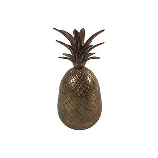 Brass Pineapple Jar