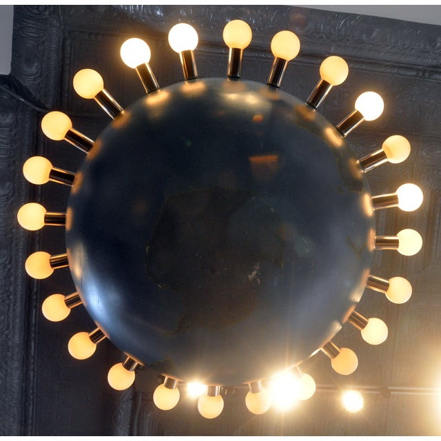 Ted Harris Vintage Globe Chandelier - Image 2 of 5