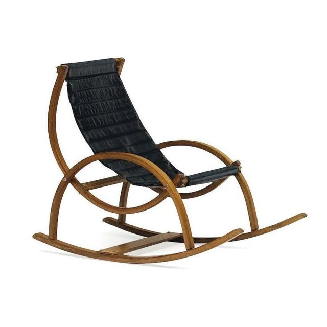Image of Vintage 1950s Child's Sling Chair