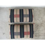 Image of Handwoven Tribal Pillows - A Pair