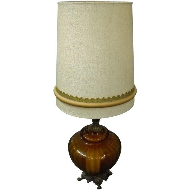 Tall Mid-Century Lamp - Image 1 of 4