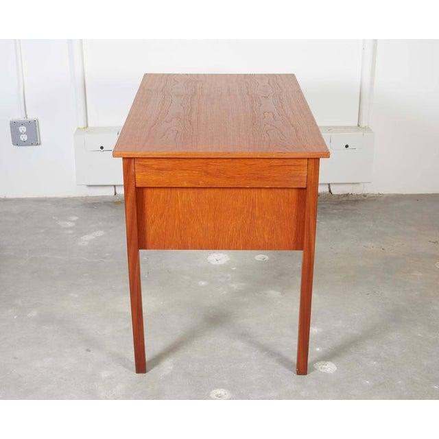 Danish Teak Desk - Image 7 of 9
