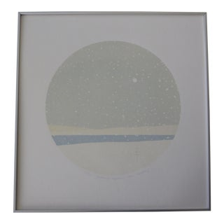 "Reimi Tobayashi ""Evenings Approach"" Silk Screen Le"