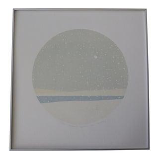"Reimi Tobayashi ""Evenings Approach"" Silk Screen Print"