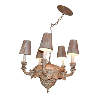 Neoclassical Style 5-Light Chandelier