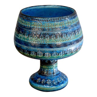Bitossi Raymor Mid-Century Italian Footed Bowl