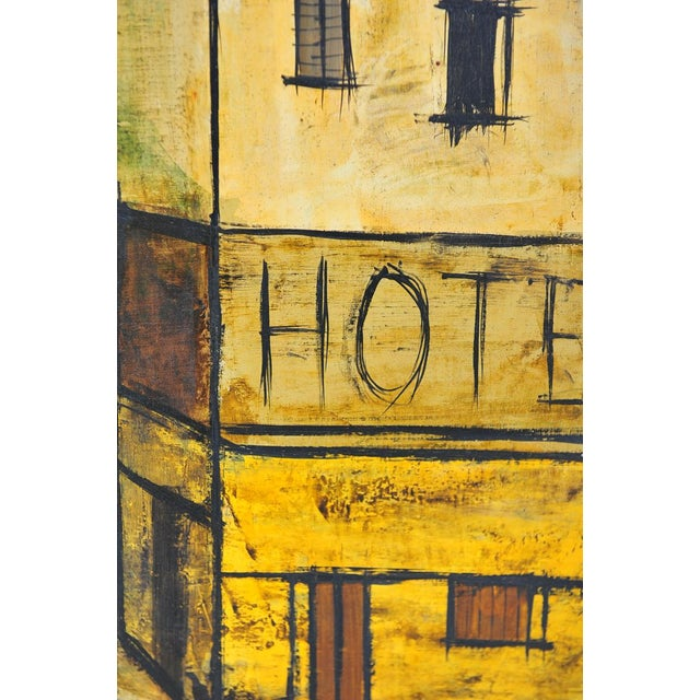 Charles Levier - Paris Street Scene - Oil Painting - Image 6 of 9