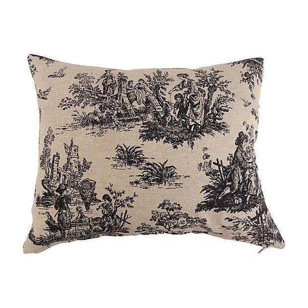 French Country Toile Pillows Set Of 3 Chairish